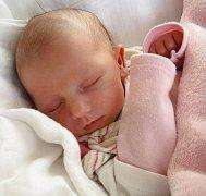 Terezie Fusková, Moravský Beroun, narozena 13. srpna ve Šternberku, míra 47 cm, váha 2880 g.