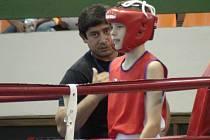 Mario Wiedermann v ringu.