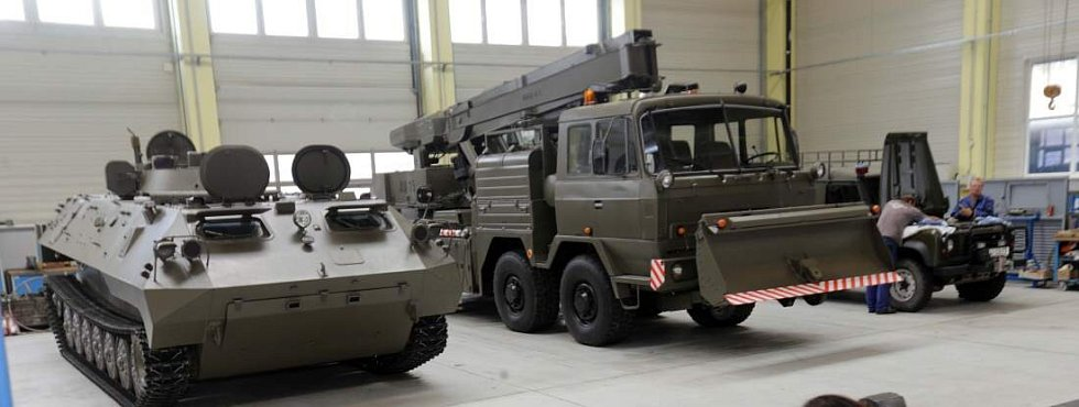 Šternberská zbrojovka společnosti Excalibur Army