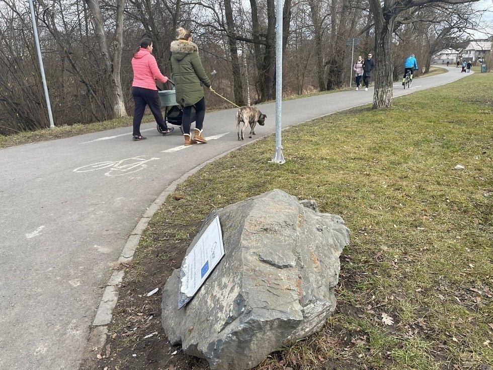 In-line stezka Hejčínské louky, sobota 13. března 2021