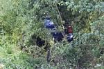 Srážka motorky s autem u Kožušan-Tážal, 23. července