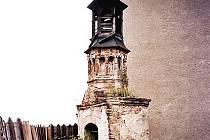 Kaple svatého Floriana vLutíně.