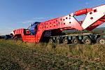 Nadměrný náklad, který zamíří z Olomouce přes Mohelnici na Moravskou Třebovou