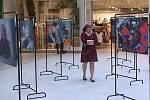 Výstava Jindřicha Štreita v Šantovce ke dni urgentní medicíny