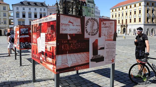 Výstava Sedm olomouckých dní připomíná výročí srpnové okupace.