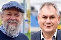 Postupující do 2. kola senátních voleb v obvodu 66 (Olomoucko): Marek Ošťádal (STAN) a Jan Zahradníček (ANO)