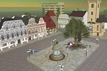 Virtuální město Bohemia na portálu Second Life