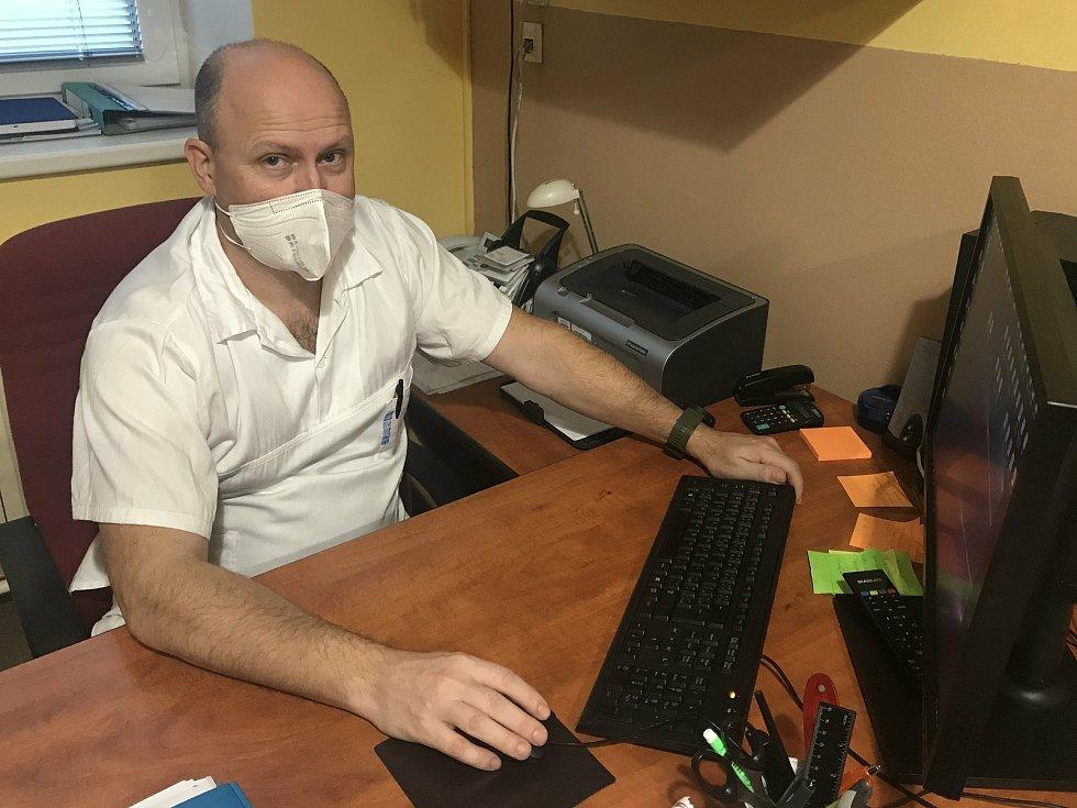 MUDr. Marek Vaca, primář Gynekologicko-porodnického oddělení Nemocnice AGEL Šternberk.