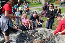 Návštěvníkům Horky nad Moravou se otevřely nové stavby v okolí Sluňákova