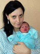 Daniel Horák, Troubelice, narozen 18. října ve Šternberku, míra 47 cm, váha 2920 g.