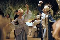 Dobové barokní tance. Ilustrační foto.