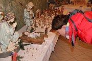 Výstava betlémů Josefa Novotného v Dubu nad Moravou