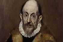 El Greco - Autoportrét (Portrét starého muže), 1595–1600