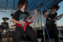 Rockeři v akci.