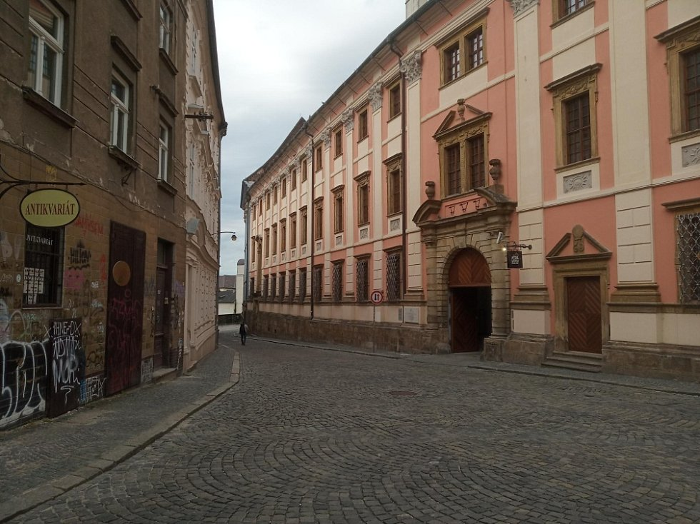 Filmová místa v Olomouci. Jezuitský konvikt