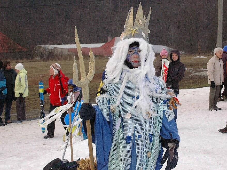 Karneval na sjezdovce v Hlubočkách