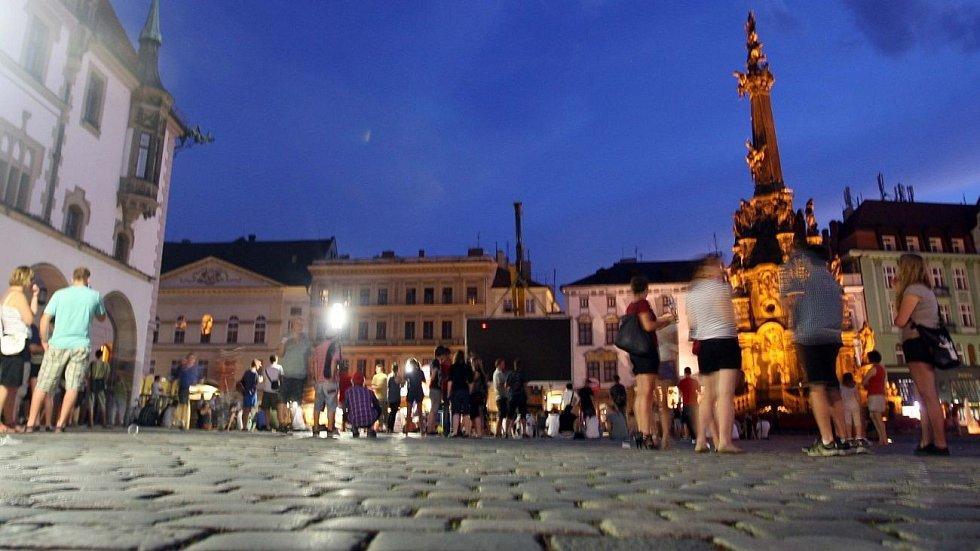 Program na Horním náměstí v Olomouci. Ilustrační foto