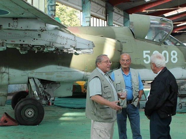 Den letectva oslavila v pondělí 17. září v olomouckém Leteckém muzeu zhruba padesátka pilotů – veteránů