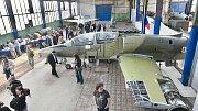 Letecké muzeum v Olomouci - slavnostní otevření pro hosty a novináře