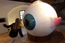 Pevnost poznání v Olomouci - interaktivní model oka