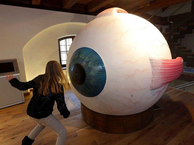 Pevnost poznání vOlomouci - interaktivní model oka
