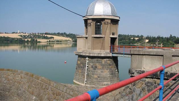 Plumlovská přehrada.