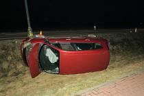 Nehoda u Uničova 27. 2. 2021