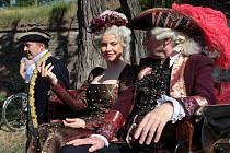Marie Terezie navštívila Olomouc v rámci Svátků města. Od Korunní pevnůstky až na Horní náměstí ji doprovázel průvod vojáků v dobových kostýmech.