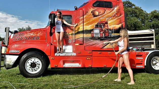 Truck and Van Show 2020 v olomouckém kempu Krásná Morava