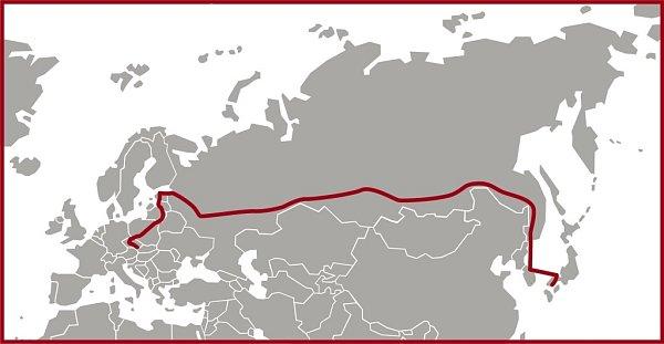 Plánovaná trasa výpravy