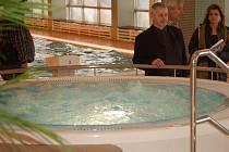 Nový whirpool na přerovském bazéně