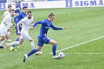 Olomouc remizovala doma se Slováckem v dohrávce 23. kola 0:0.Radek Látal