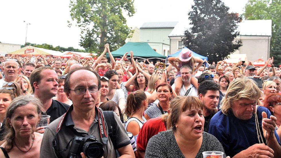 Litovelský otvírák v areálu pivovaru, 10. 8. 2019