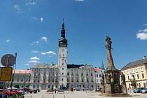 Radniční věž v Litovli dostala nový nátěr.
