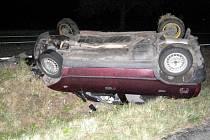 Nehoda u Střelic na Uničovsku