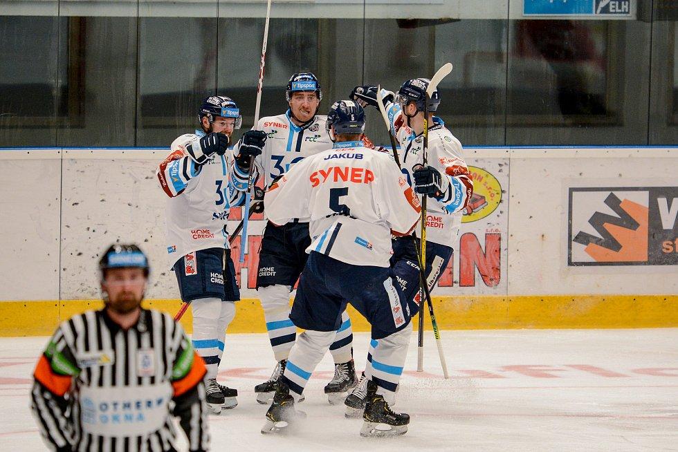 Hokejisté Mory (v červeném) proti Liberci - 21. 12. 2020