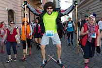 Recesistický Půlvánoční běh v Olomouci s charitativním rozměrem