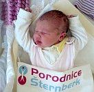 Zuzana Novotná, Uničov, narozena 16. ledna ve Šternberku, míra 52 cm, váha 3600 g