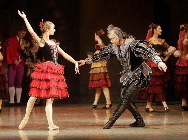 Balet Don Quiote Moravského divadla Olomouc