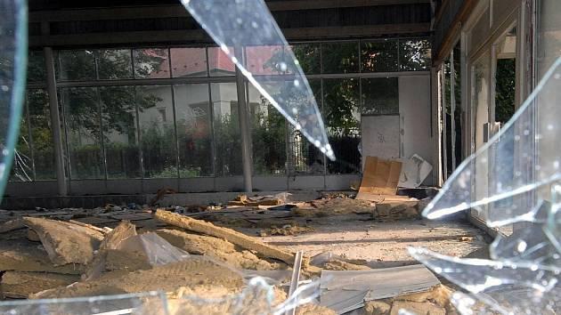 Majitel chce pavilon přestavět k rekreačním účelům.