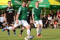Fotbalisté Kožušan proti Velkému Týnci