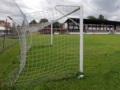 Fotbalový stadion v olomoucké části Hodolany