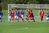 Dolní Benešov porazil béčko olomoucké Sigmy 1:0.