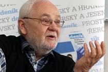 Jaroslav Rod při on-line rozhovoru pro Olomoucký deník