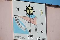 Sluneční hodiny v Unčovicích