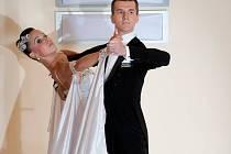 LEKTOR A TANEČNÍK. Taneční mistr David Voráč tvrdí, že k výuce tance není žádný mimořádný talent nutný