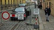 Oprava třídy 1.máje v Olomouci