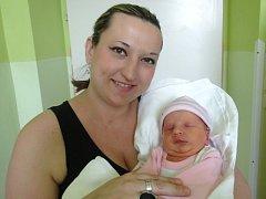 Vanessa Vivien Vernerová, Olomouc, narozena 10. dubna v Olomouci, míra 52 cm, váha 3990 g.