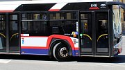 Autobus olomoucké MHD. Ilustrační foto