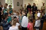 Arcibiskup Jan Graubner vysvětil novou mateřskou církevní školku v Olomouci.